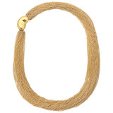 Elsa Peretti 18k Gold Multi-Chain Collar Necklace