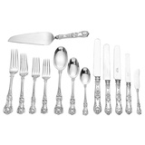 "​Silver ""English King"" Flatware Set"