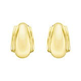 ​Paloma Picasso 18k Yellow Gold Half-Hoop Earrings