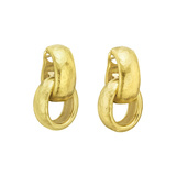 Paloma Picasso 18k Yellow Gold Half-Hoop Drop Earrings
