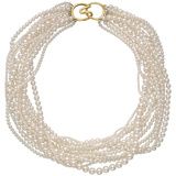 ​Cultured Pearl Torsade Necklace
