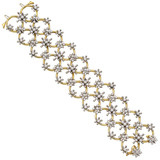 "Diamond ""Circo dei Fiori"" Lattice Bracelet"