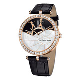 """A Day in Paris"" Rose Gold & Diamond Wristwatch"