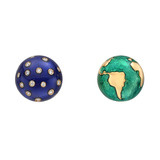 "​""Night & Day"" Stud Earrings"