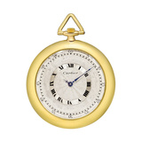 Vintage Manual-Winding Yellow Gold Pocket Watch