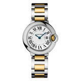 Ballon Bleu 28mm Steel & Yellow Gold (W69007Z3)