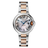 Ballon Bleu 33mm Steel & Rose Gold (W6920098)