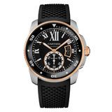 ​Calibre Diver Steel & Rose Gold (W7100055)
