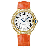 Ballon Bleu 36mm Yellow Gold & Diamond (WE900451)