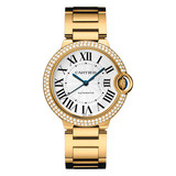 Ballon Bleu 36mm Yellow Gold & Diamond (WE9004Z3)
