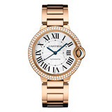 Ballon Bleu 36mm Rose Gold & Diamond (WE9005Z3)