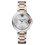 ​​Ballon Bleu 33mm Steel & Rose Gold (WE902044)
