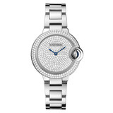 ​Ballon Bleu 33mm White Gold & Diamond (WE902048)