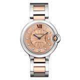 ​Ballon Bleu 36mm Steel & Rose Gold (WE902054)
