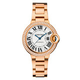​Ballon Bleu 33mm Rose Gold & Diamond (WE902064)