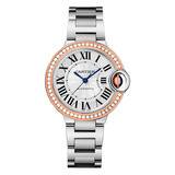 ​​​Ballon Bleu 33mm Steel & Rose Gold (WE902080)