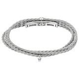 &quot;Silky Quartett&quot; 18k White Gold Bracelet