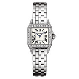Santos Demoiselle Small White Gold Diamonds (WF9003Y8)