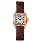 ​Santos Demoiselle Small Rose Gold & Diamond (WF902006)