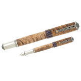 &quot;Merlot&quot; Pen with Figured Mesquite Barrel