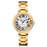 ​​Ballon Bleu 33mm Yellow Gold & Diamond (WJBB0002)