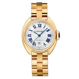 Clé 31mm Yellow Gold & Diamond (WJCL0004)