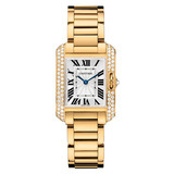 ​Tank Anglaise Small Yellow Gold & Diamond (WT100005)