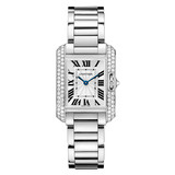 ​Tank Anglaise Small White Gold & Diamond (WT100008)