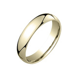 ​18k Yellow Gold Comfort Fit Wedding Band (5mm)