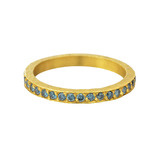"""Jane"" Blue Diamond Band Ring"