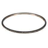 "Gilver & Diamond ""Lilah"" Stack Bangle"