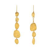 """Melissa"" 24k Gold Long Dangle Earrings"
