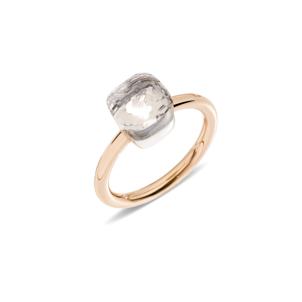 Pomellato - Nudo Maxi - Stackable Ring with Blue Topaz and