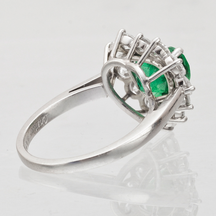 diamond accent lab double v heartshaped shaped labcreated and in silver heart ring created sterling p emerald