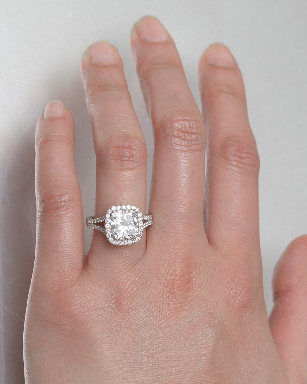 3.01 Carat Cushion-Cut Diamond Ring | Betteridge