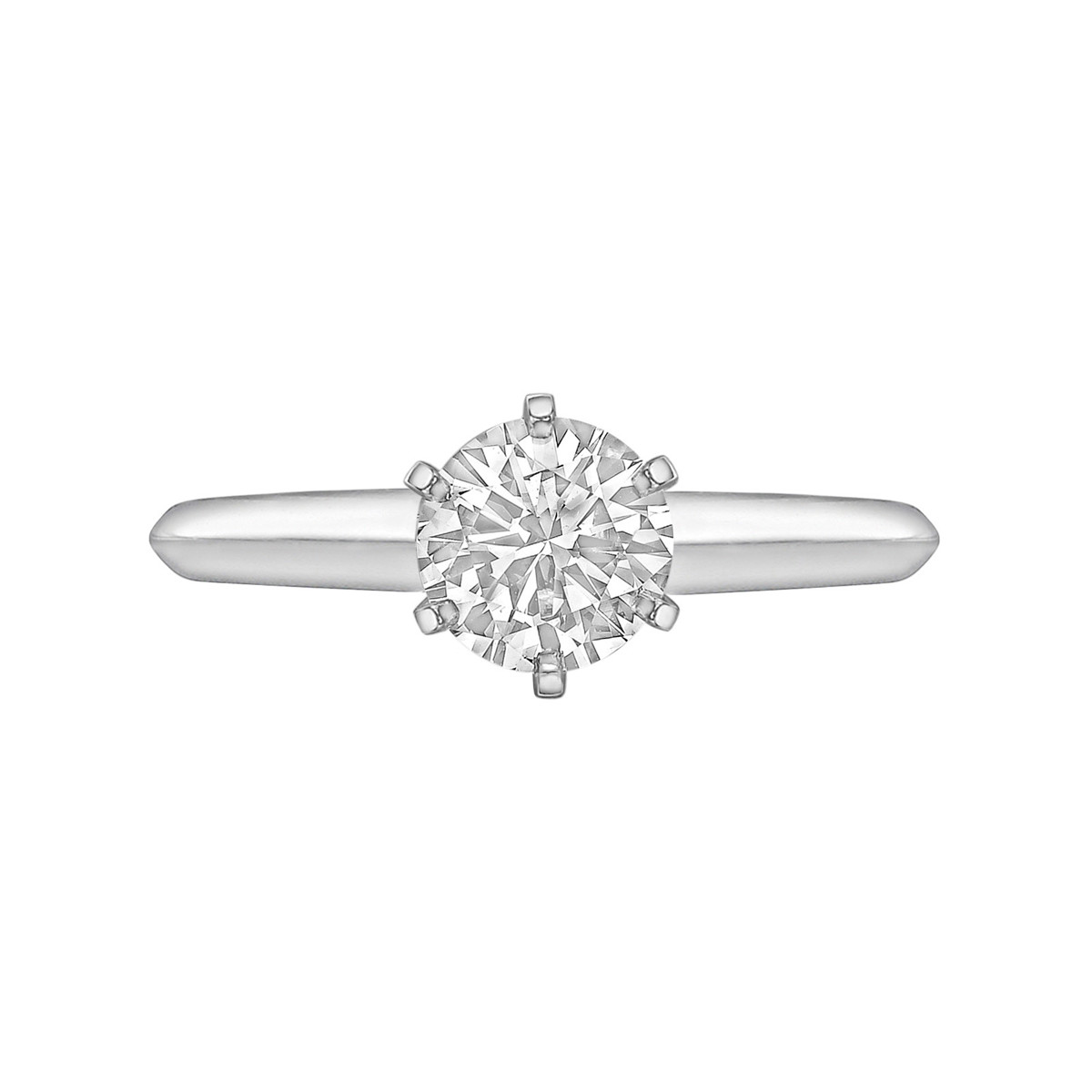 1.03ct Round Brilliant Diamond Solitaire Ring (E/VVS2)