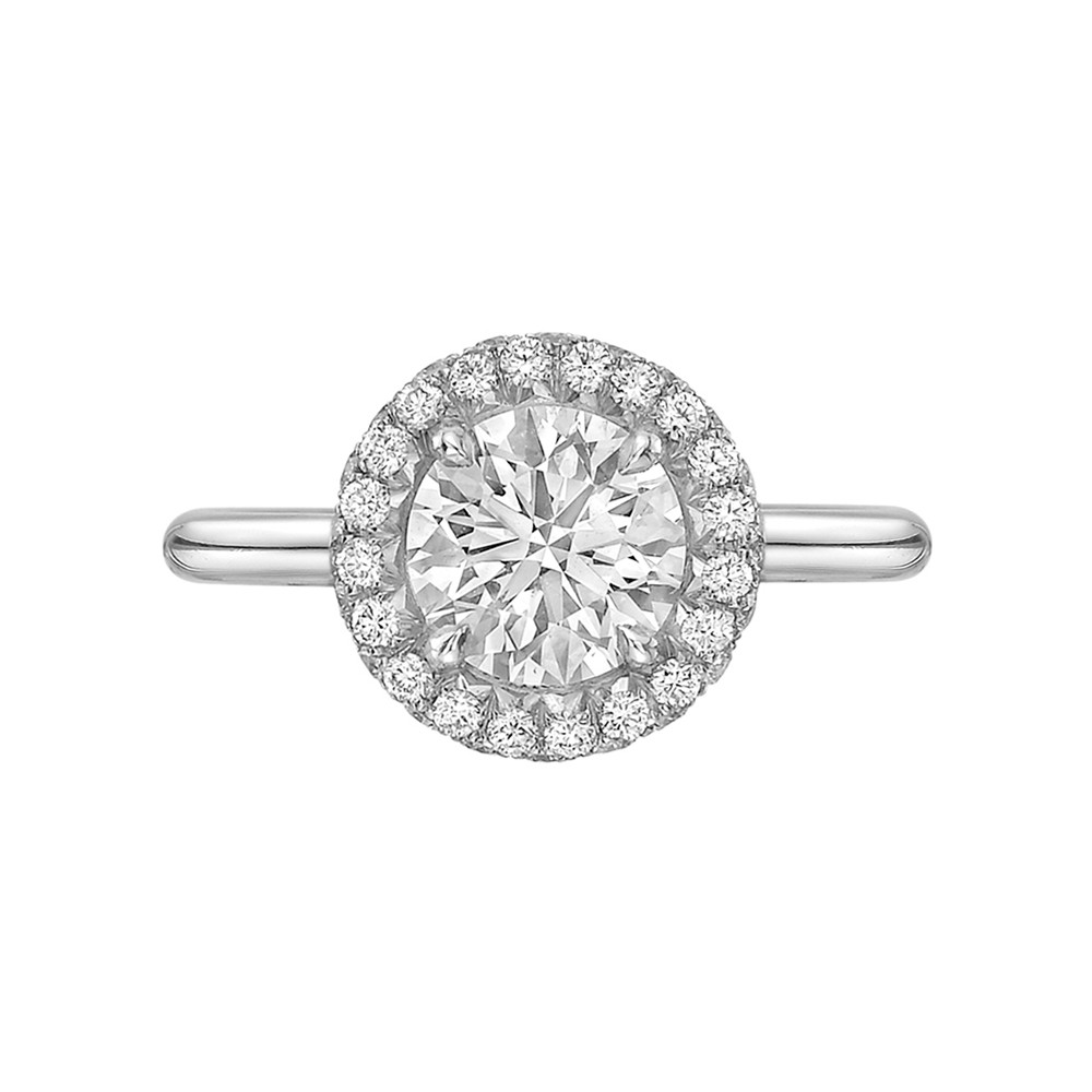 "1.11 Carat Round Brilliant Diamond ""Oriana"" Ring"