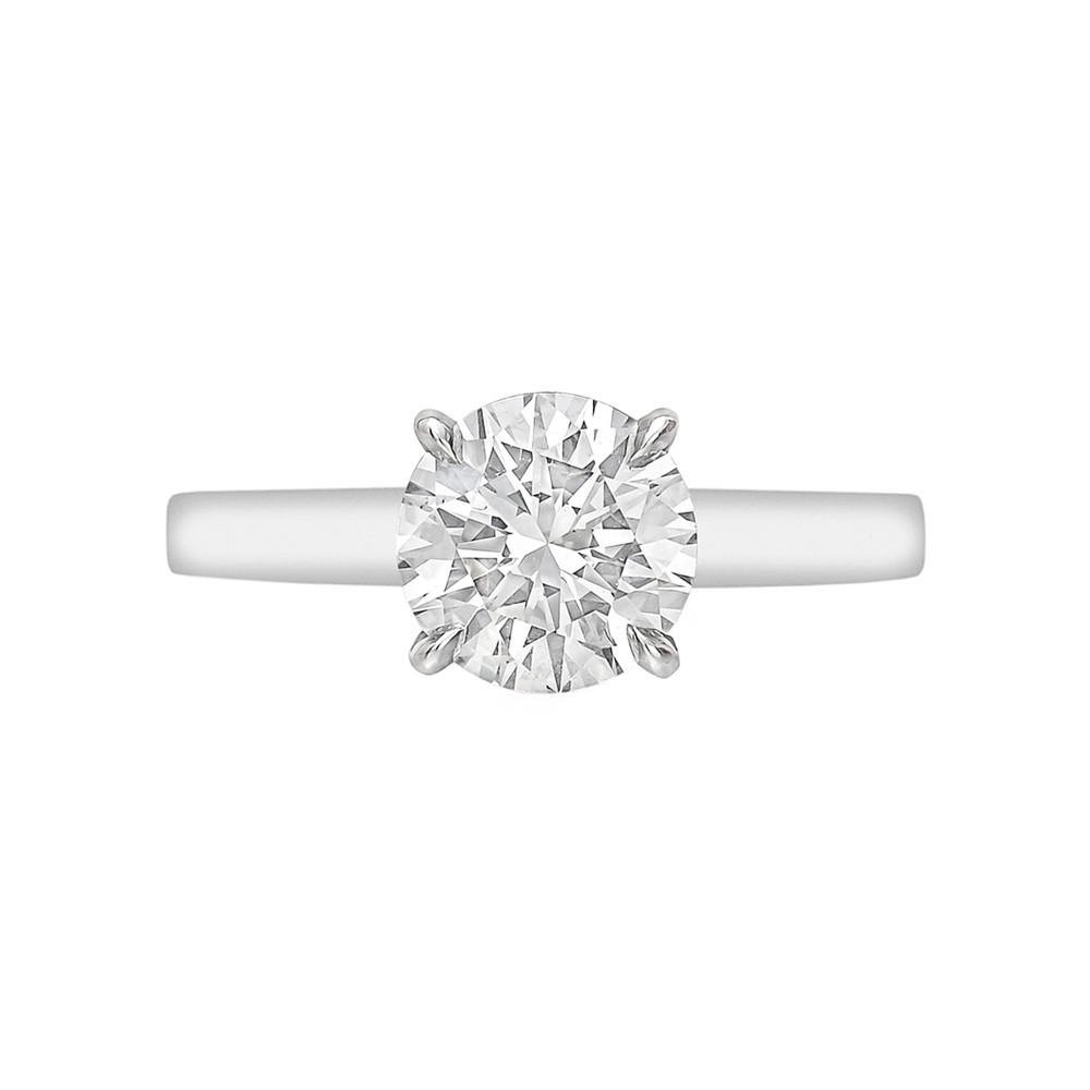 1.51ct Round Brilliant Diamond Ring (F/SI1)