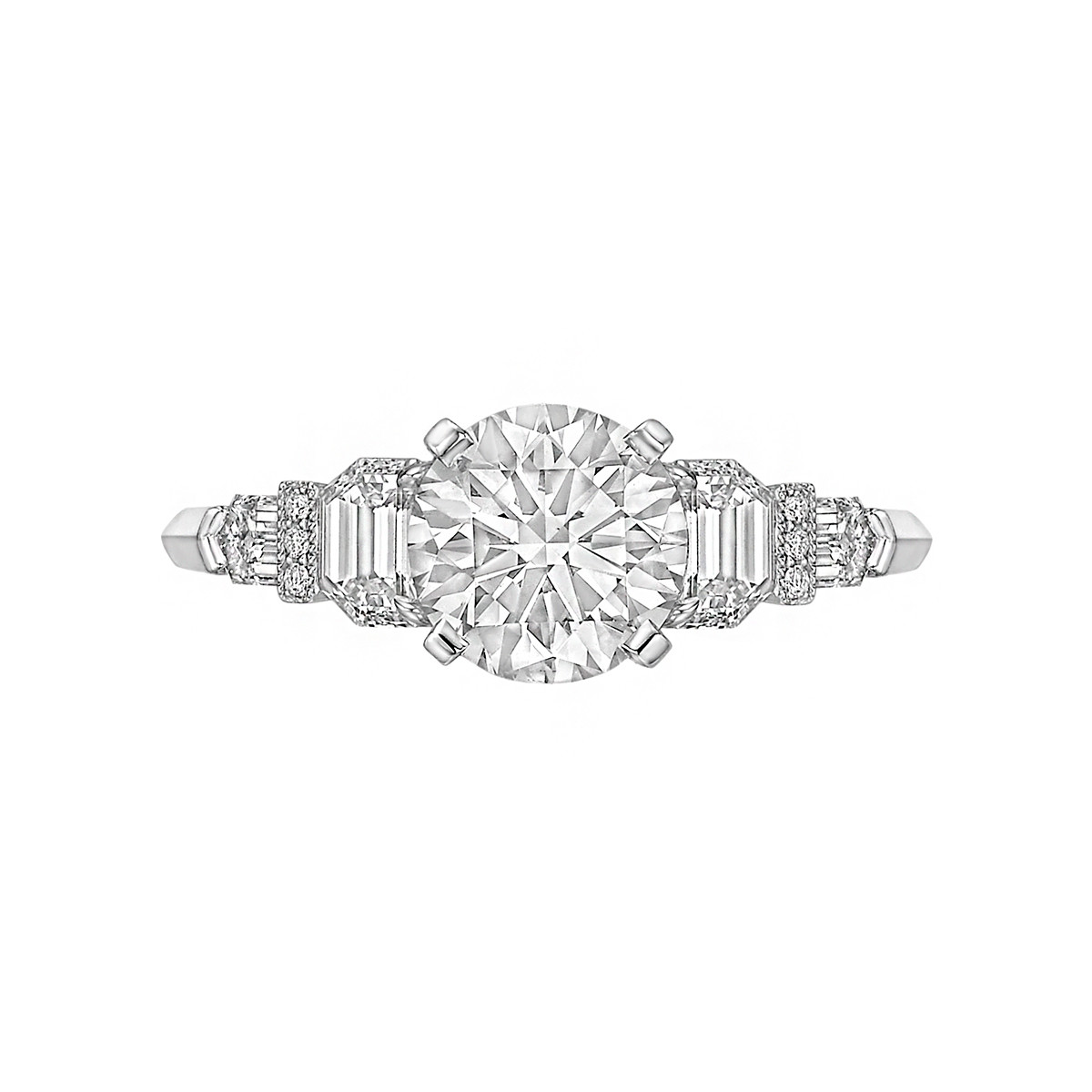 1.60ct Round Brilliant Diamond Ring (G/VS2)