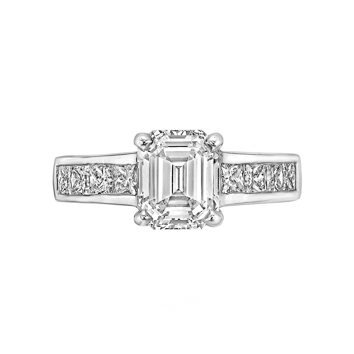 1.82ct Emerald-Cut Diamond Ring (G/SI1)