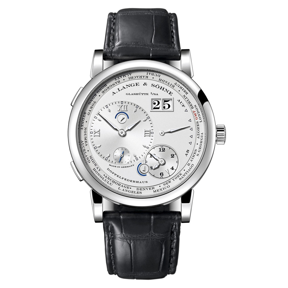 Lange 1 Time Zone White Gold (116.039)