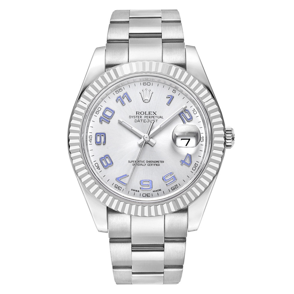 Datejust 41 Steel & White Gold (116334)