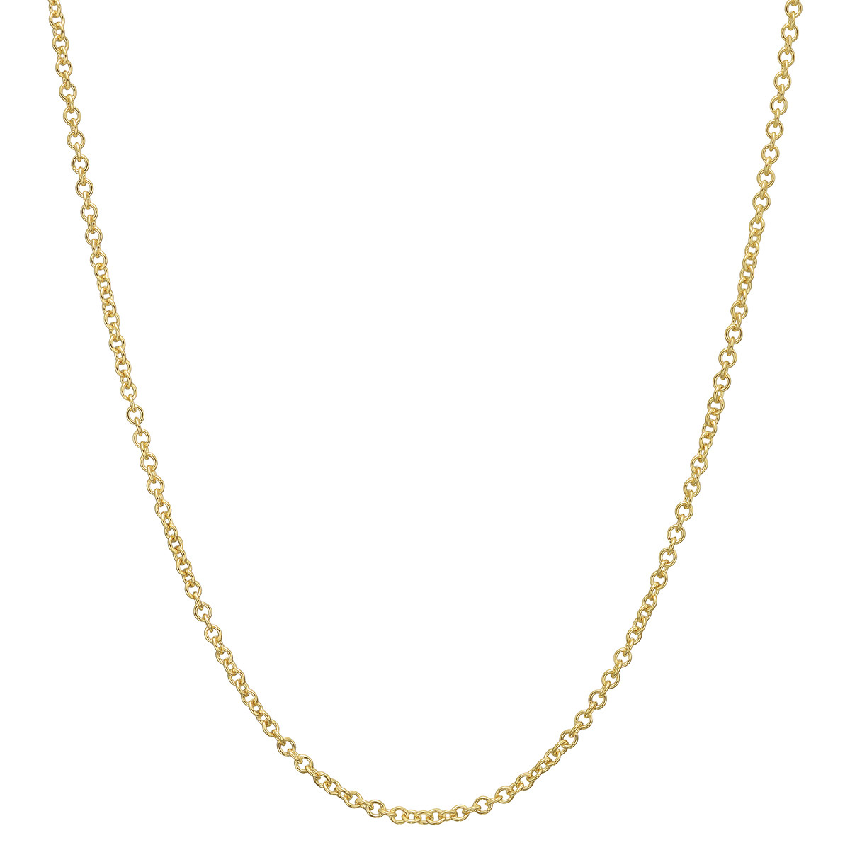 "14k Yellow Gold Chain Necklace (16"")"