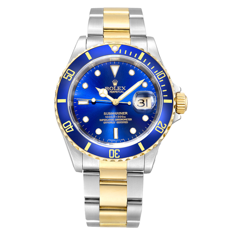 Submariner Date Steel & Yellow Gold (16613)
