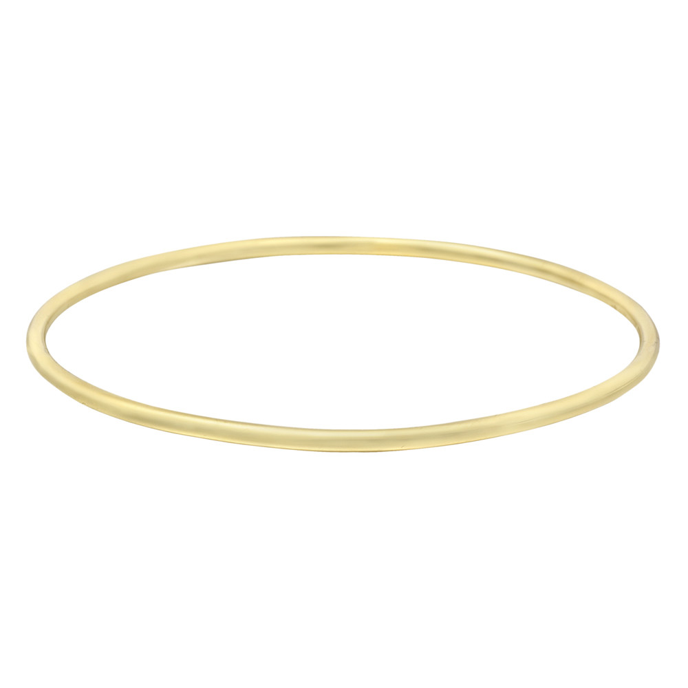18k Yellow Gold Polished Bangle