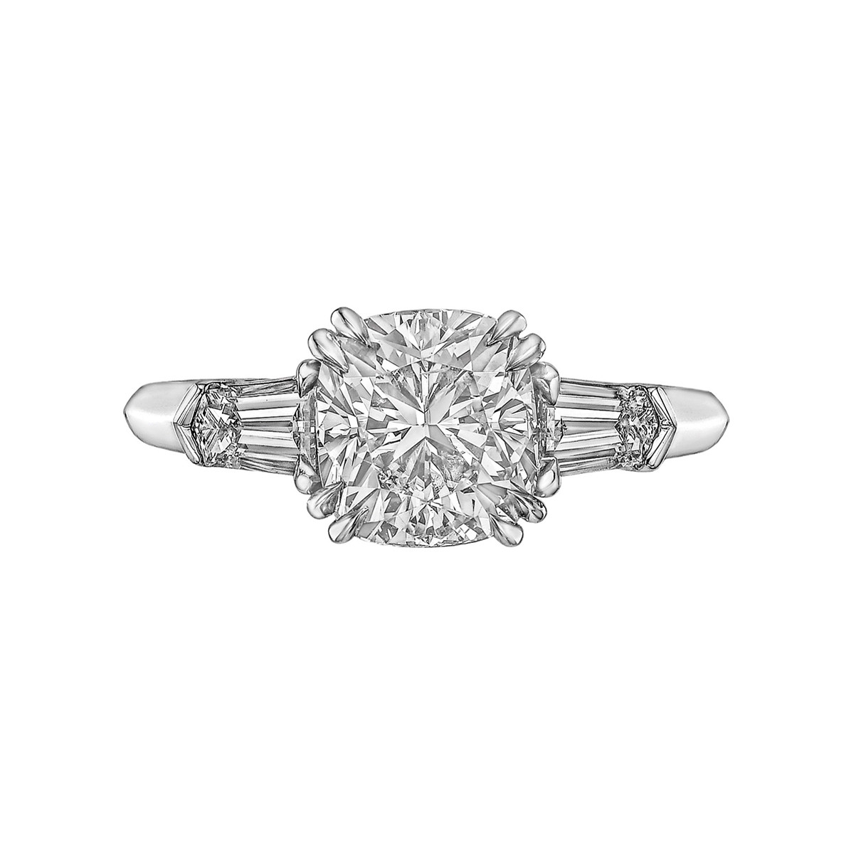 2.01ct Cushion-Cut Diamond Ring (G/SI1)