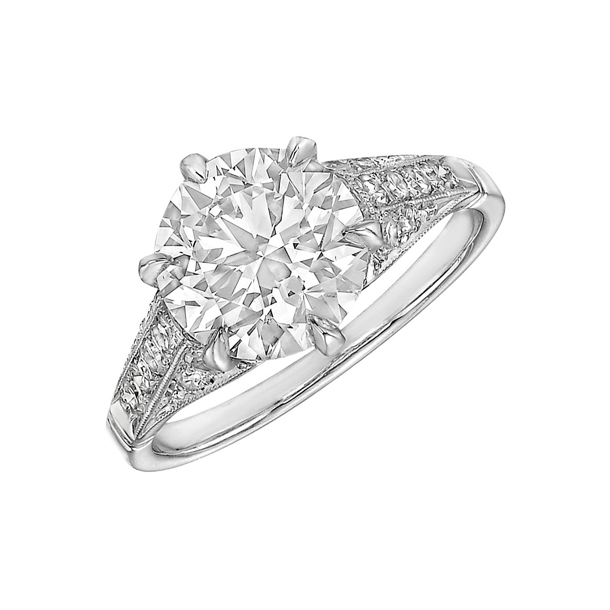 2.50ct Round Brilliant Diamond Ring (G/SI1)