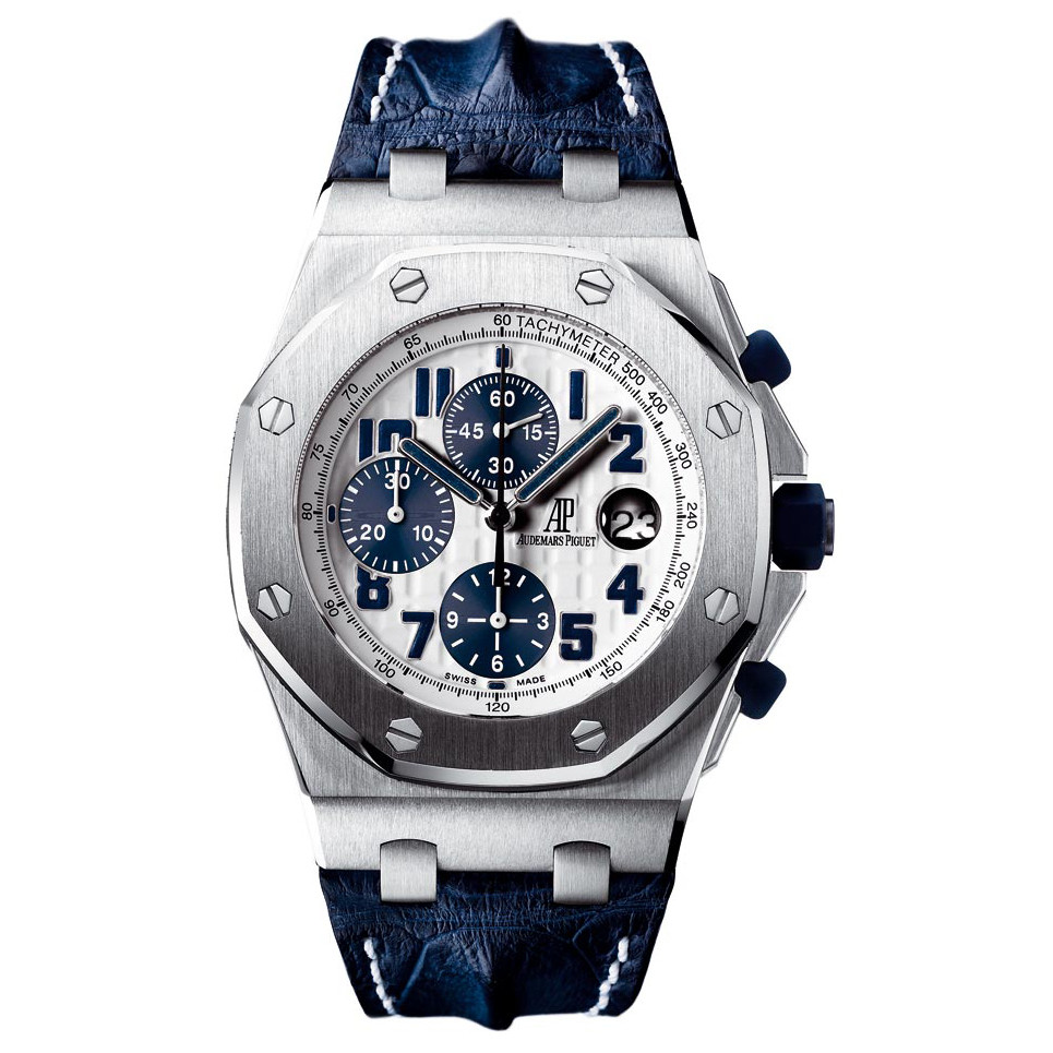 26170st oo audemars piguet royal oak offshore navy On royal oak offshore navy
