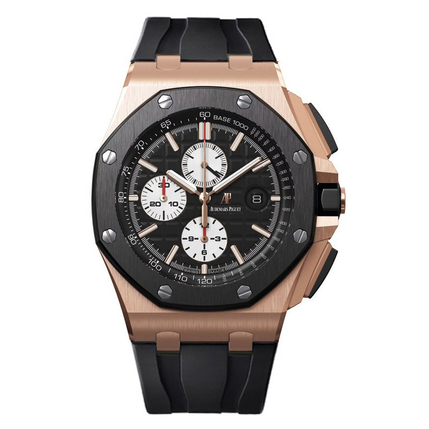 26401ro oo audemars piguet royal oak offshore steel ceramic for Royal oak offshore ceramic