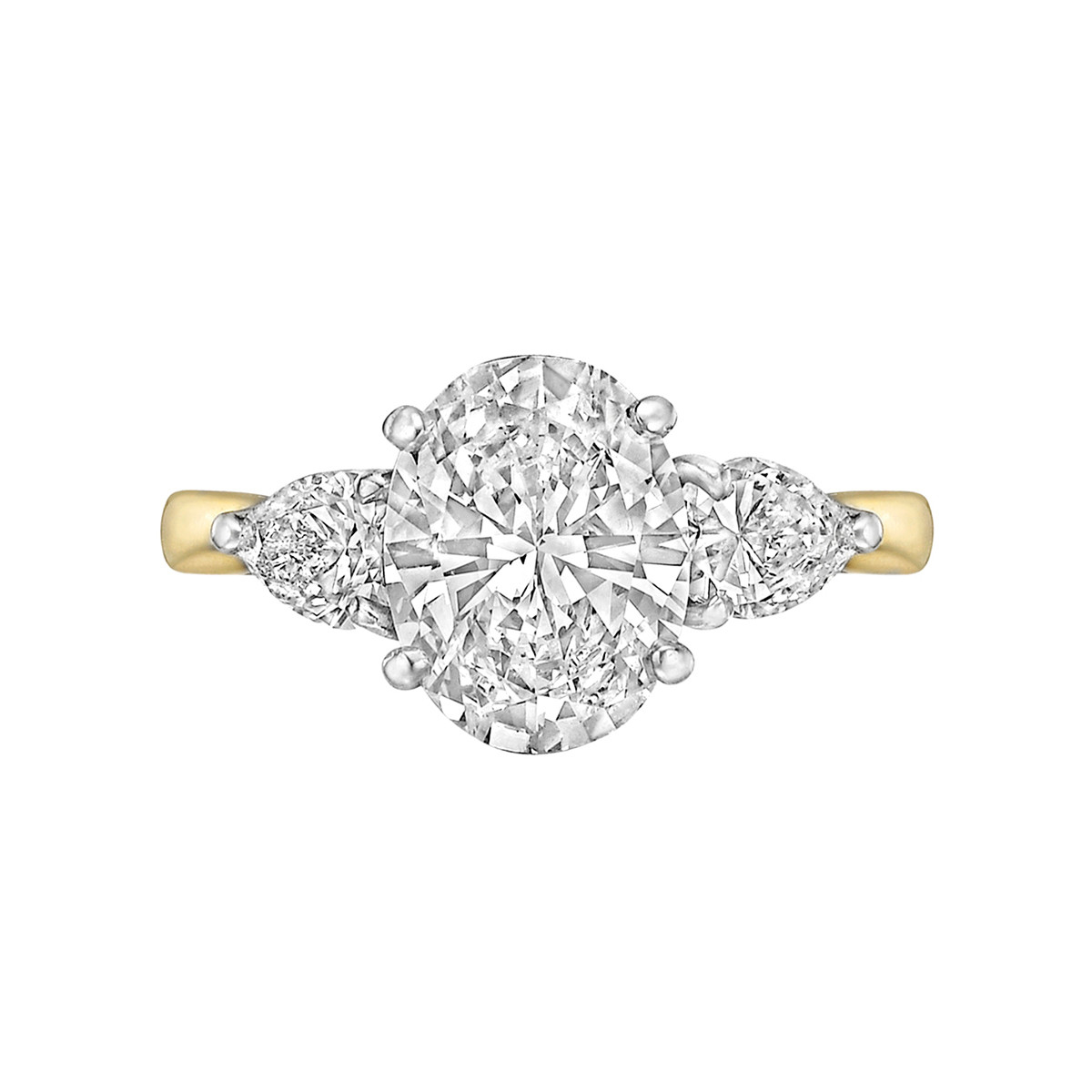 2.12ct Oval Brilliant Diamond Ring (E/VS1)